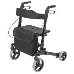 HealthSmart Gateway Rollator Walker - Ultra-Lightweight