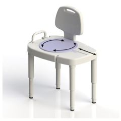 Ableware Maddak Sliding Rotating Bathroom Transfer Bench