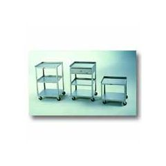 Mobile Carts Mobile Cart - 3 shelves & Drawer - wt. 40 lbs.