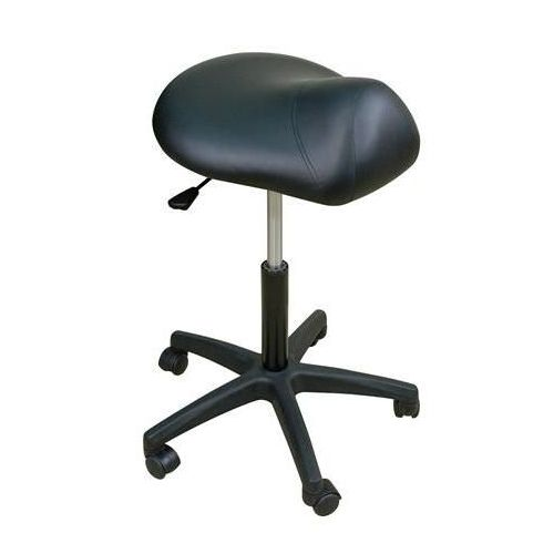 "Oakworks Premium Saddle Stool 22""-29""H"