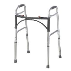 McKesson Junior Aluminum Folding Walker