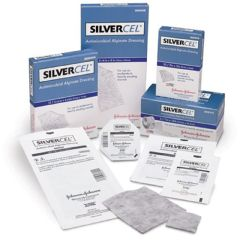"SILVERCEL Antimicrobial Alginate Dressing - 4 1/4"" x 4 1/4"""