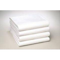 "Standard Textile White Bed Sheet - 54"" x 81"""