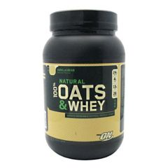 Natural Optimum Nutrition Natural 100% Oats and Whey - Milk Chocolate