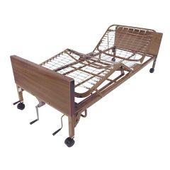 Drive Multi-Height Manual Bed, Rails, Mattress
