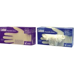 Cypress Medical Products Powder-Free Latex General Purpose Gloves - Small