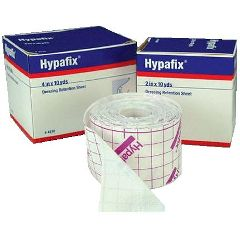 "Smith & Nephew Hypafix Dressing Retention Tape - 4"" x 10 yards"