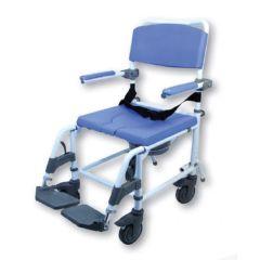 EZee Life Healthline 180 Aluminum Shower Commode Chair - Standard