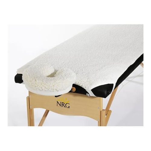 Tiger Medical Products Ltd NRG Fleece Massage Table Pad and Face Rest Cover Set Model 229 0046
