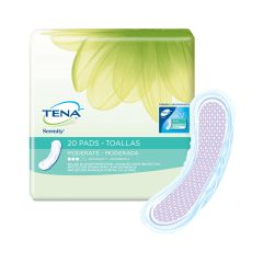 TENA Light Incontinence Bladder Control Pads- Moderate Absorbency