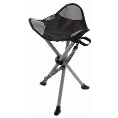 Travelchair Backless On-Site Therapist Stool Black