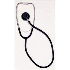 Dual Head Stethoscope - Black