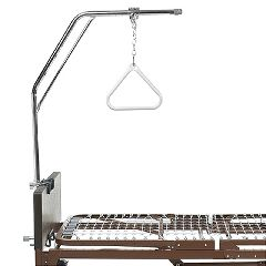 Offset Trapeze Bar w/ Grab Bar