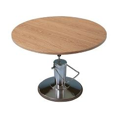 Hausmann Round Hydraulic Lift Table