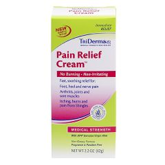 TriDerma MD Pain Relief Cream - 2.2 oz tube
