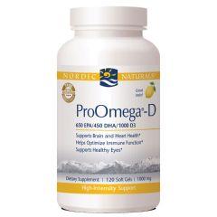 Nordic Naturals - ProOmega®-D 1000mg Lemon