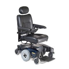 Invacare Pronto M51 Power Wheelchair - Semi-Recline 16x16 Blue