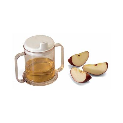 Sammons Preston Transparent Mug with Two Handles - Replacement Lid Only Model 077 0119