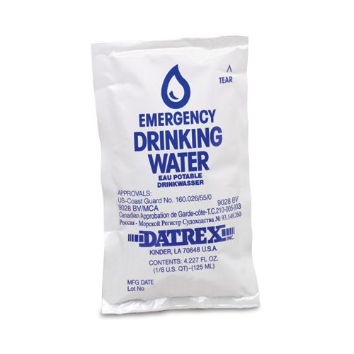 AliMed Emergency Drinking Water Pouches Model 018 0007