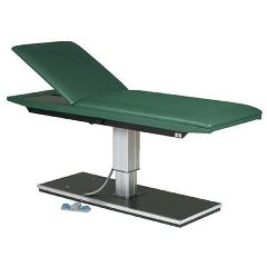 Hausmann Powermatic Treatment Table With 75Dg Adj Backrest