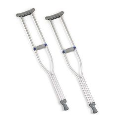 Invacare Quick-Adjust Crutches - Adult