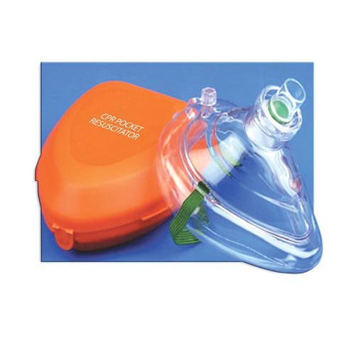 Complete Medical Supplies CPR Pocket Resucitator| Hard Case & One-Way Valve & O2 Inlet Model 751 587231 01