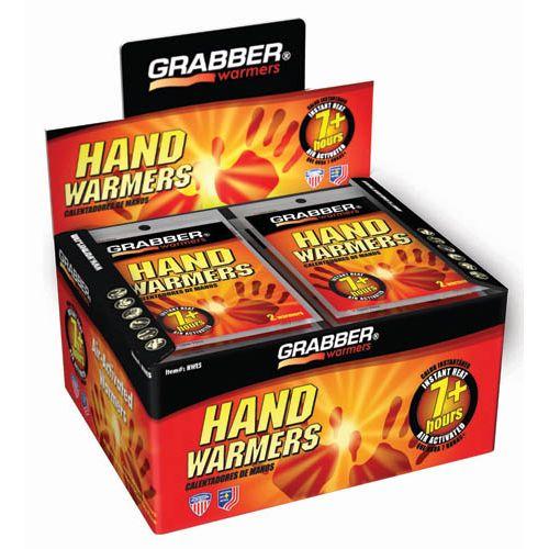 Grabber Hand Warmers 7+ Hour Instant Heat Pack Model HWES
