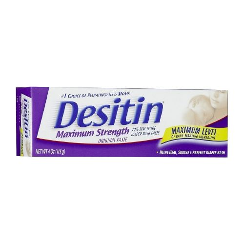 Desitin Ointment - Maximum Strength, 4 oz tube Model 168 5019