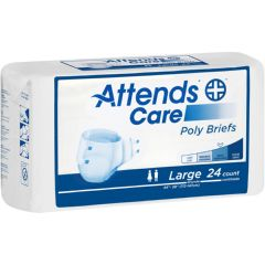 "Attends Care Poly Briefs - Medium 32"" - 44"""