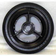 "New Solutions 3 Spoke Urethane Pyramid Wheel - 5 x 1"""