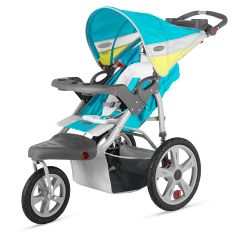 InSTEP Grand Safari Swivel Jogging Stroller - Single