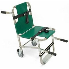 Evacuation Chair w/4 Wheels and Front & Back Handles