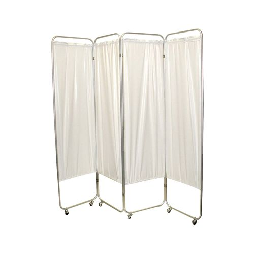 Fabrication Standard 3-Panel Privacy Screen With Casters