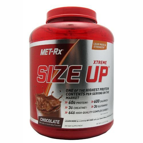 MET-Rx Size Up - Chocolate Model 827 583651 01