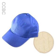 Cool Comfort Baseball Cap with Insert - Set of Two Blue Hats + 2 Extra Cool Packs