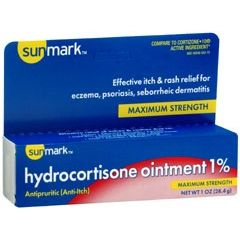 Sunmark Maximum Strength Hydrocortisone Cream