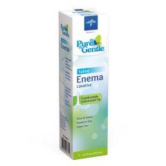 Medline Pure & Gentle Disposable Saline Enema