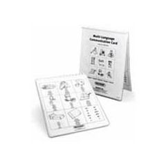 Multi Language Communication Cards