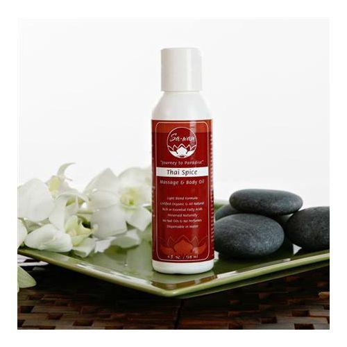 Sa-Wan Thai Spice Massage And Body Oil Model 224 0180 08