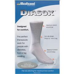 Invacare Supply Group Diasox Diabetic Socks