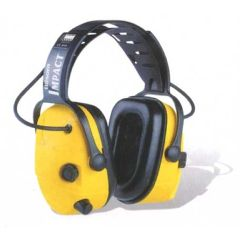 Grainger SPERIAN Impact 707 Electronic Over-the-Head Earmuff NRR 23dB