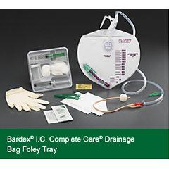 Bardex I.C. Complete Care Drainage Bag Foley Trays w/ StatLock Foley Stabilization Device