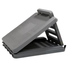 Cando Incline Board - Heavy Duty Plastic - 0-35 Degree Elevation - 14 X 14 Inch Surface