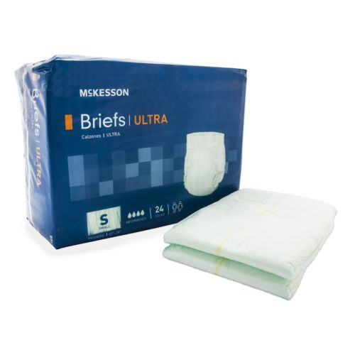 McKesson Ultra Incontinent Brief - Small