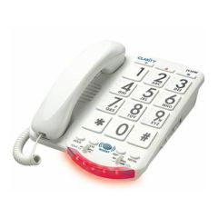 Clarity Amplified Big Button Phone White Keys