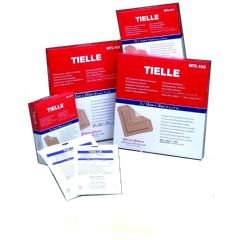 "TIELLE Hydropolymer Adhesive Dressing - 4 1/4"" x 4 1/4"""