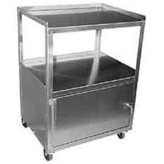 "Ideal Stainless Steel Cabinet Cart 16""X21""X30"""