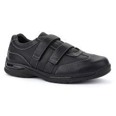 Oasis Footwear Oasis Men's  Vincent Black Diabetic Shoe