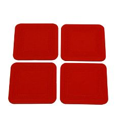 Dycem Non-Slip Square Coasters, Set Of 7