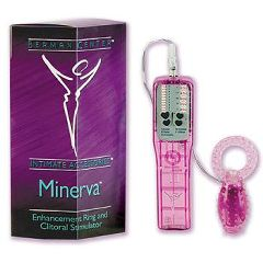 Dr. Laura Berman Intimate Accessories Minerva - Enhancement Ring and Clitoral Stimulator